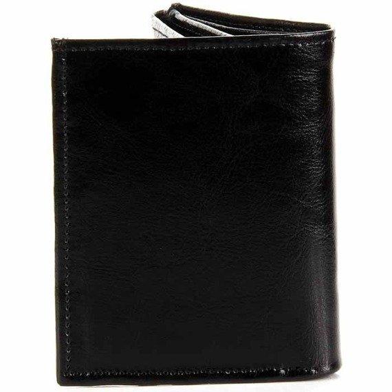 P154 skórzany portfel męski czarny