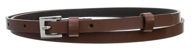 Pasek damski brązowy PD-NL-1-105