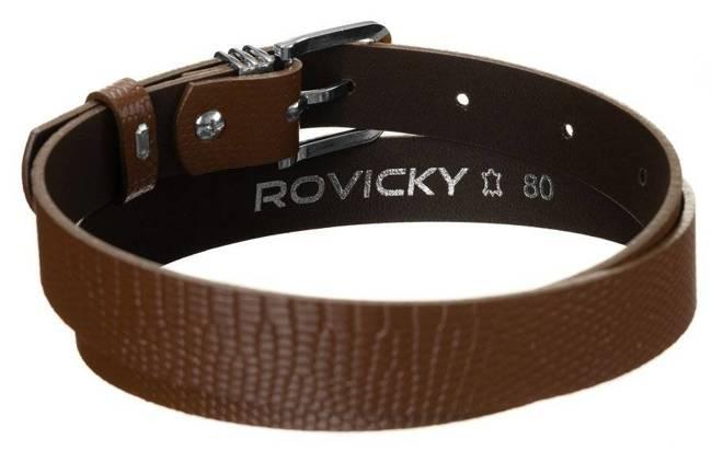 Pasek damski brązowy Rovicky ZPD-S2,5CK