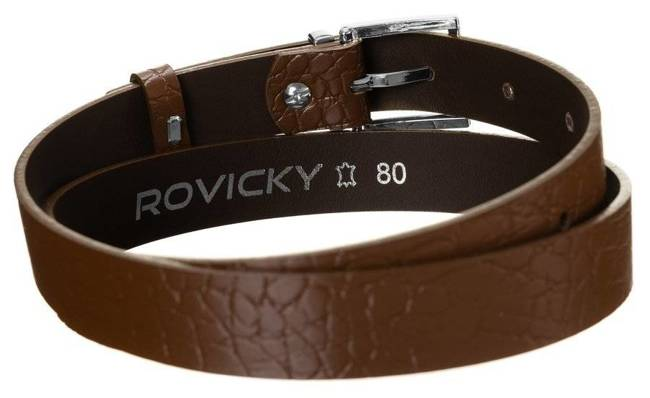 Pasek damski brązowy Rovicky ZPD-S2,5GK