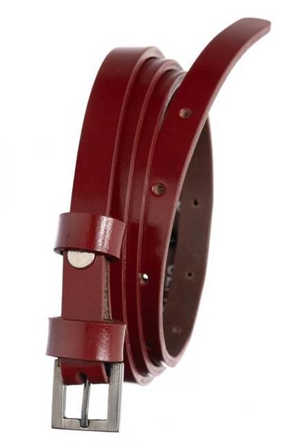 Pasek damski czerwony Badura PBD-1-A-105-8426 RED