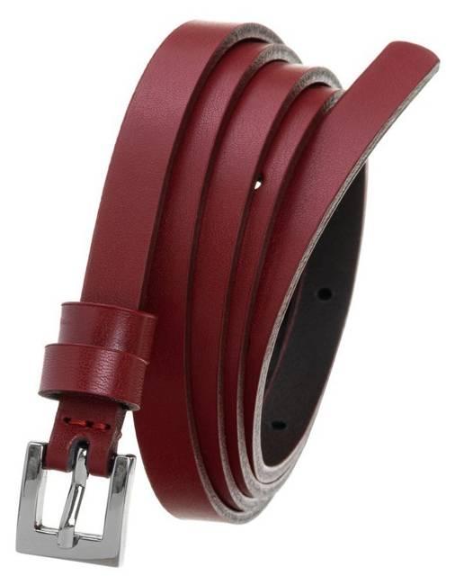 Pasek damski czerwony PD-NL-1-105