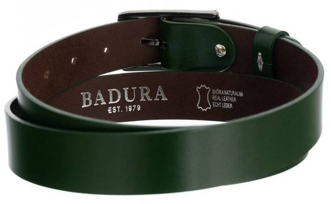 Pasek damski zielony Badura PBD-3-A-105-8556 GRE