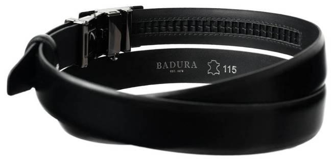 Pasek męski czarny z automatyczną klamrą Badura PAS_M014