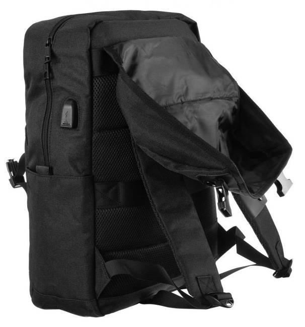 Plecak czarny unisex David Jones PC037 BLACK