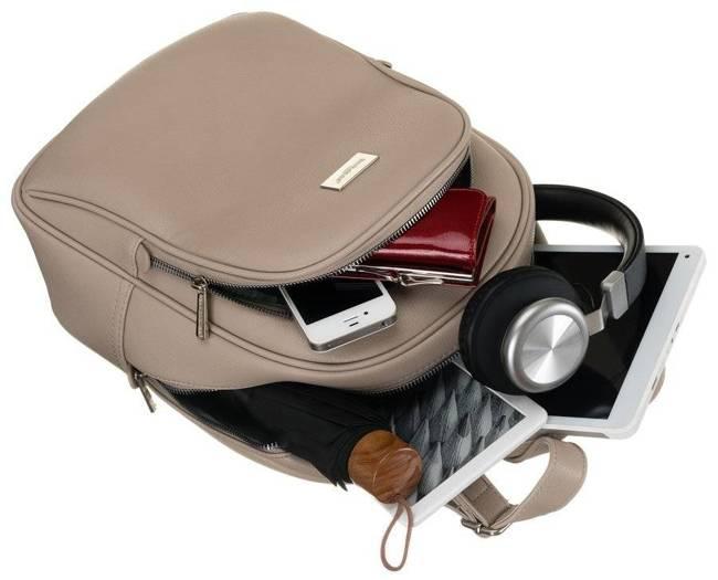 Plecak damski beżowy David Jones CM6010 CAMEL