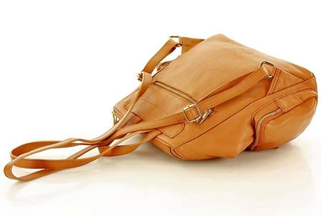 Plecak damski camel MARCO MAZZINI pl51f