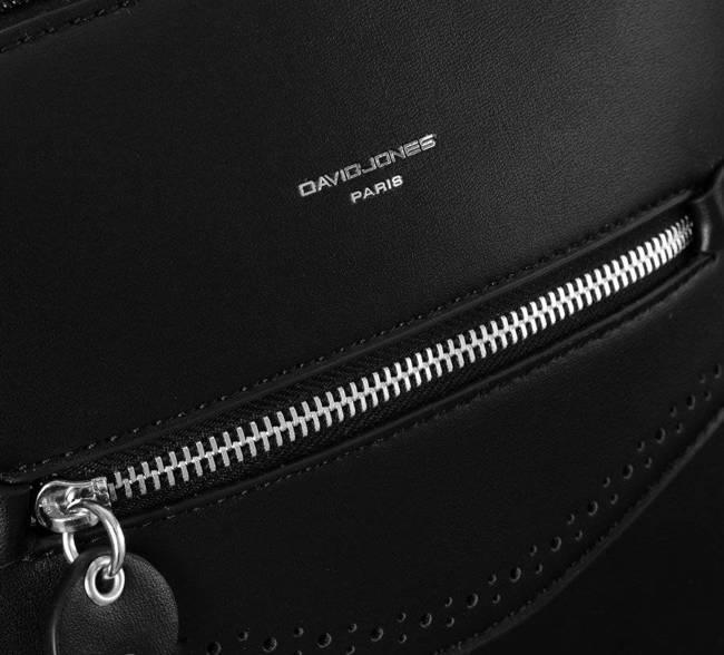 Plecak damski czarny David Jones 6263-2 BLACK