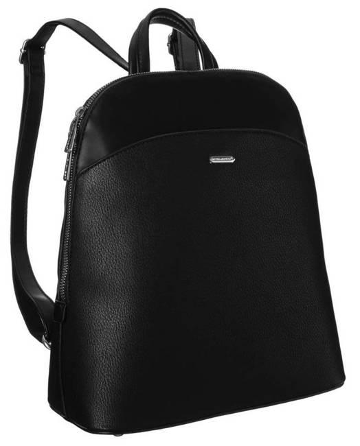 Plecak damski czarny David Jones 6509-1 BLACK