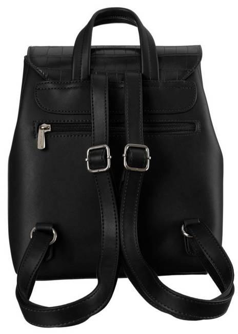 Plecak damski czarny David Jones 6606-2A BLACK