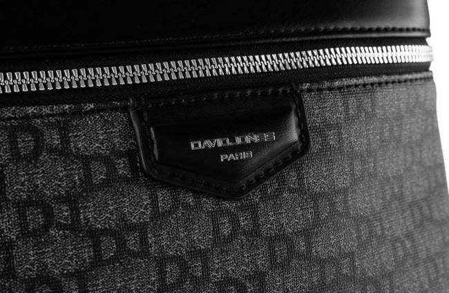 Plecak damski czarny David Jones 805506 BLACK