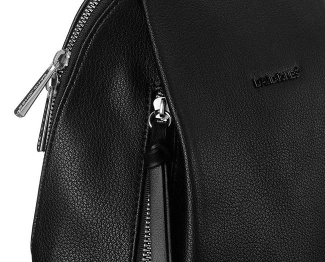 Plecak damski czarny David Jones CM6026 BLACK