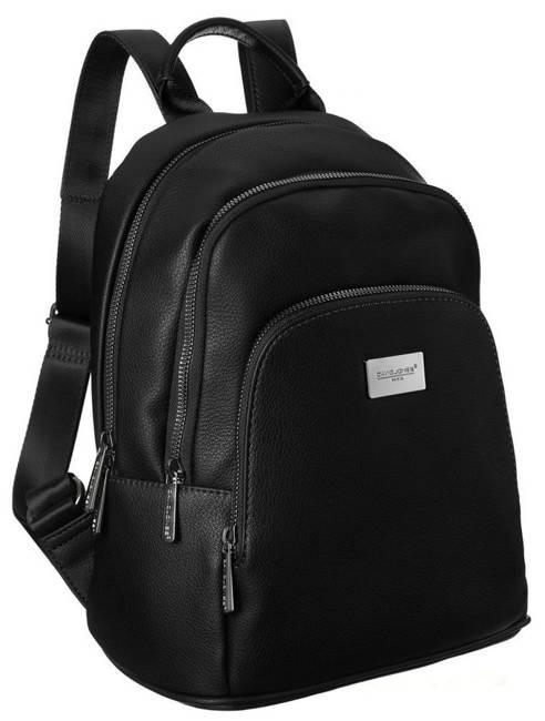 Plecak damski czarny David Jones CM6044A BLACK