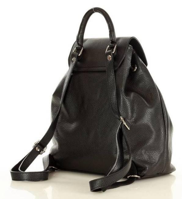 Plecak damski czarny MARCO MAZZINI PL61a