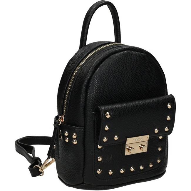 Plecak damski czarny Nobo NBAG-K4110-C020