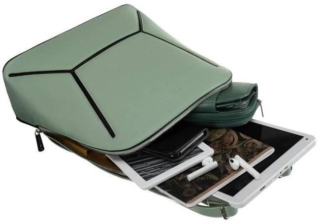 Plecak damski j. zielony David Jones 6261-2 L.GREEN