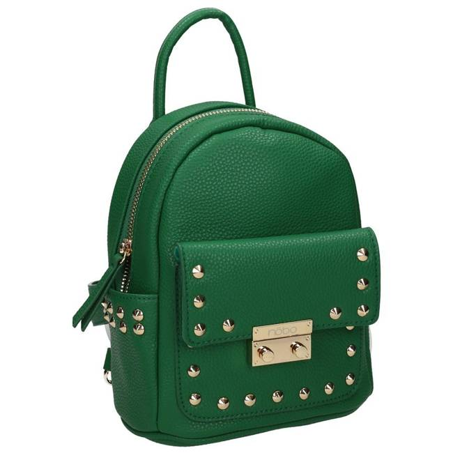 Plecak damski zielony Nobo NBAG-K4110-C008