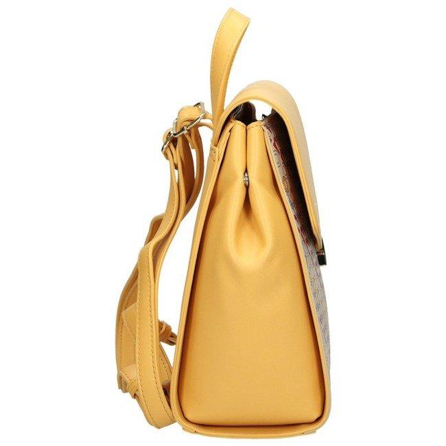 Plecak damski żółta NOBO NBAG-I1540-C002