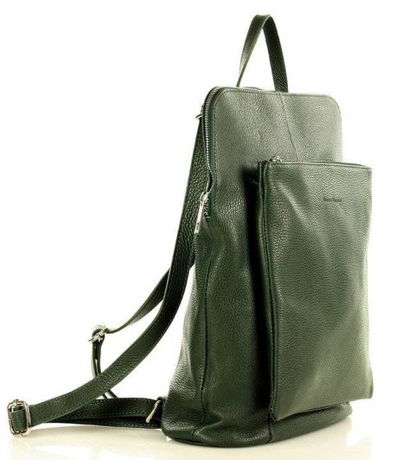 Plecak listonoszka zielony MARCO MAZZINI Pl49j