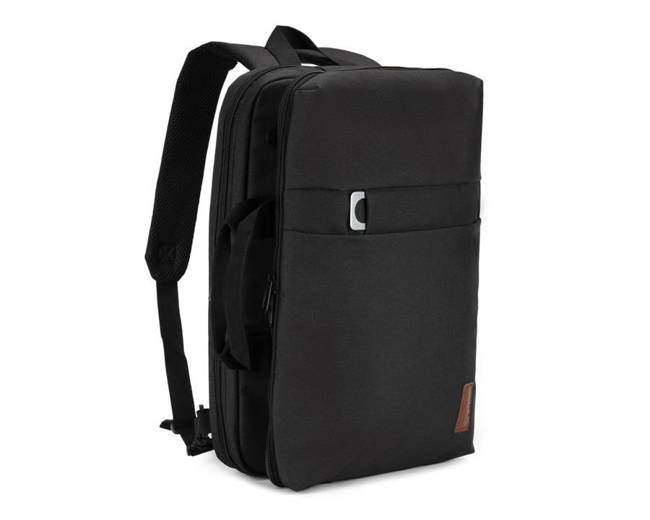 Plecak miejski na laptopa Solier SV12 BLACK czarny