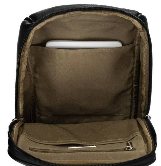 Plecak na jedno ramię czarny David Jones 798802 BLACK