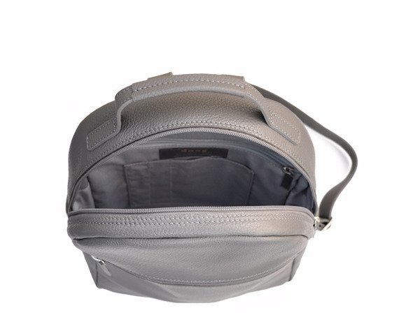 Plecak skórzany DAAG Native 18 szary