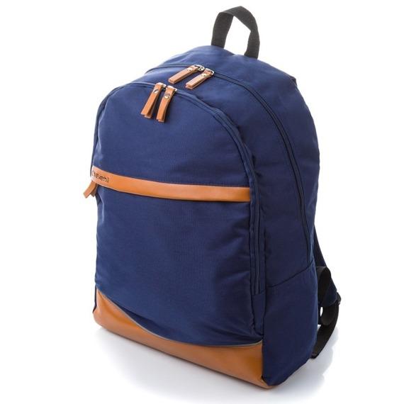Plecak szkolny młodzieżowy granatowy EVERHILL