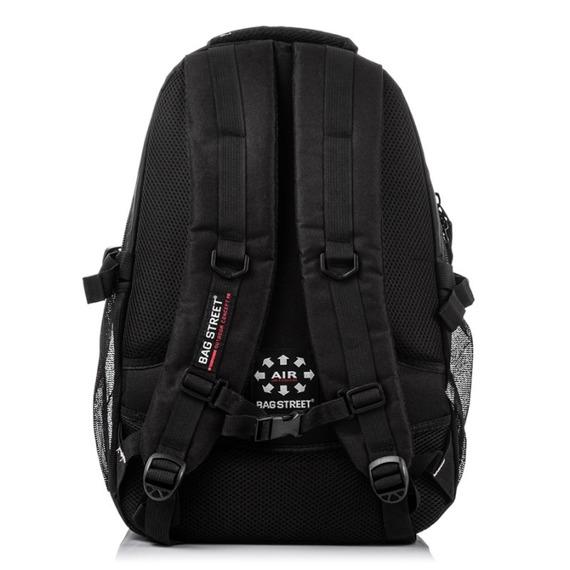 Plecak szkolny na laptopa męski Bag Street 4003 szary