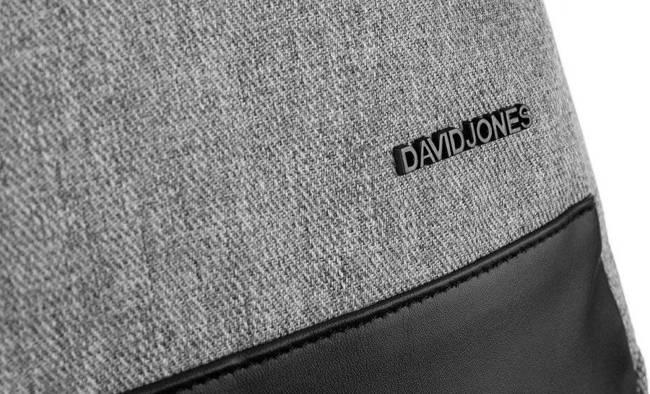 Plecak unisex j. szary David Jones  PC037 L.GREY