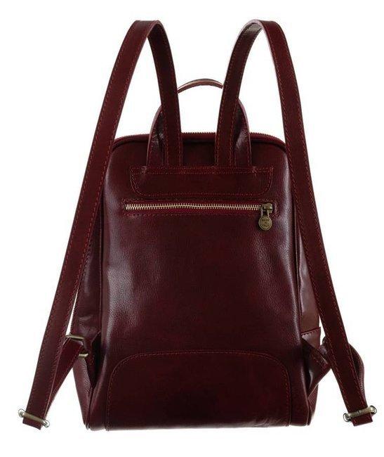 Plecak w stylu vintage bordowy Badura T_D193CR_CD