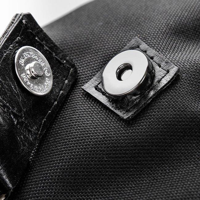 Pojemny plecak z kodury oraz skóry naturalnej Paolo Peruzzi 919 c.brązowy