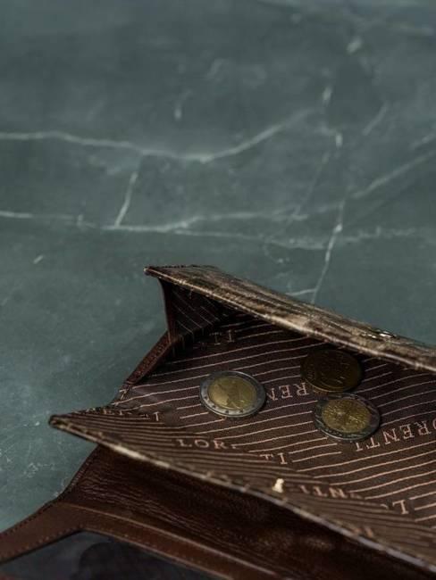 Portfel damski Lorenti brązowy 64003-PT BROWN