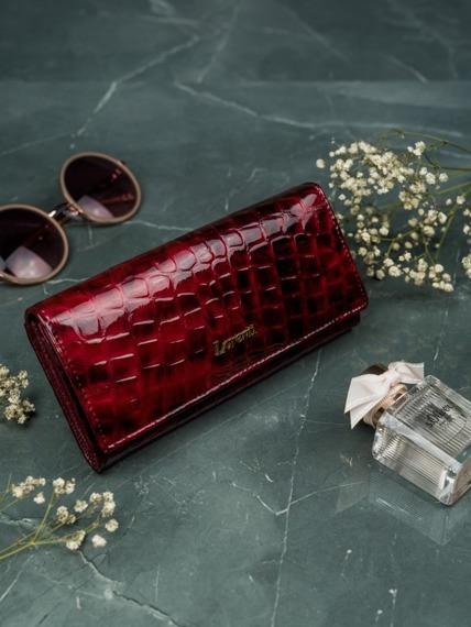 Portfel damski Lorenti czerwony 72401-PT RED