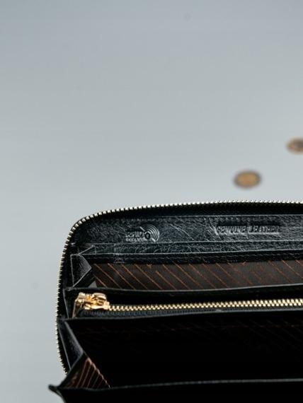 Portfel damski czarny Rovicky 8807