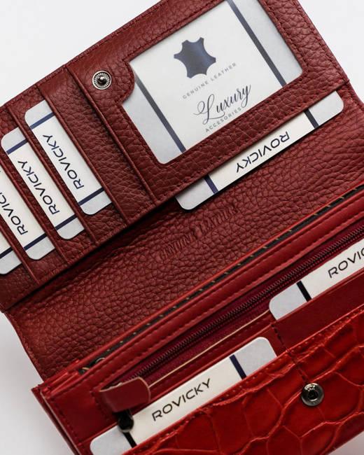 Portfel damski czerwony Cavaldi PX27-CR-0673 RED