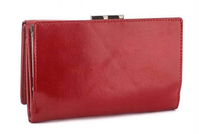 Portfel damski czerwony Kaletnica L-55020-NIC RED