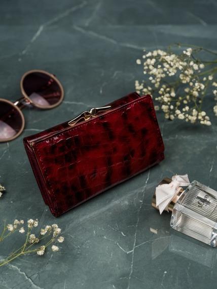 Portfel damski czerwony LORENTI  55020-PT RED