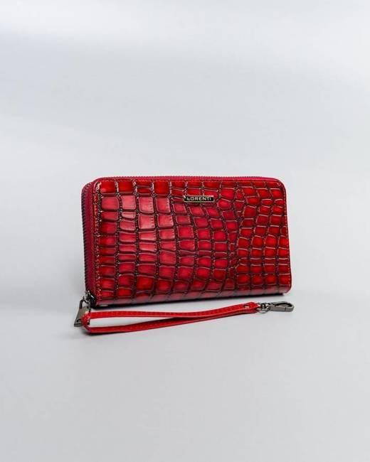 Portfel damski czerwony Lorenti 76119-ZS-0277 RED