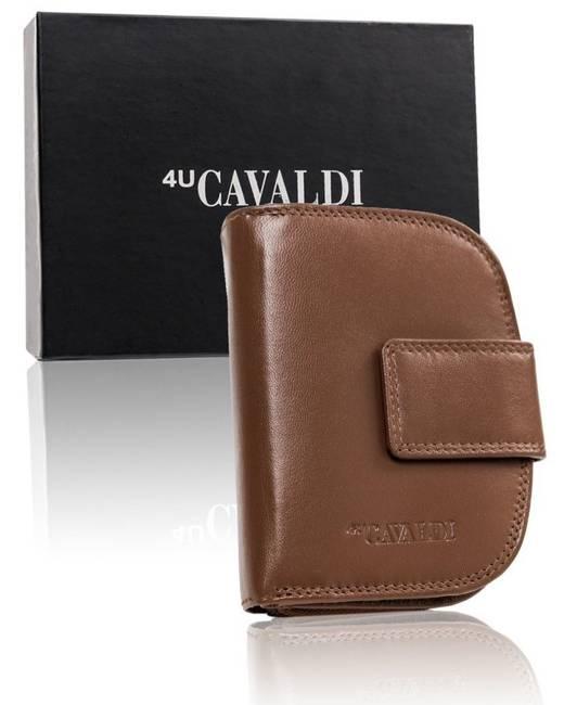 Portfel damski j.brązowy Cavaldi  RD-DB-06-GCL-7337 D.