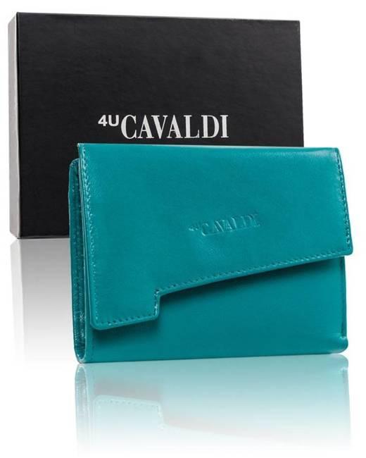 Portfel damski niebieski 4U Cavaldi RD-DB-05-GCL-7269 S.