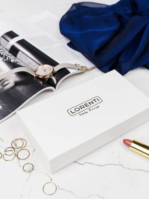 Portfel damski różowy Lorenti 72401 NIC SALOMON