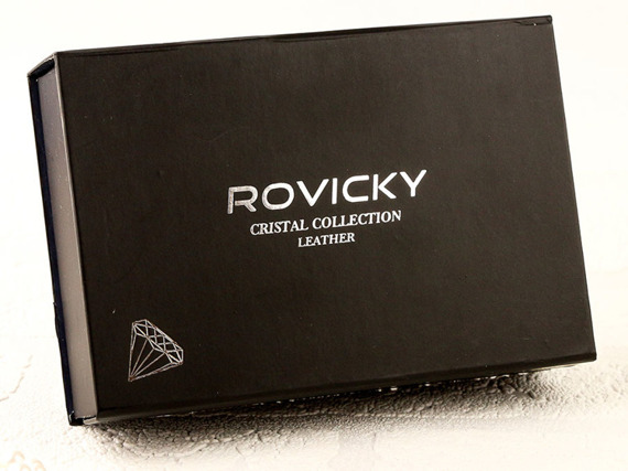 Portfel damski skórzany Rovicky bordowy