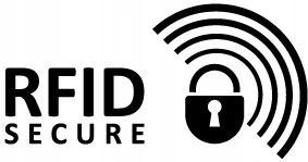 Portfel damski skórzany czarny RFID Rovicky