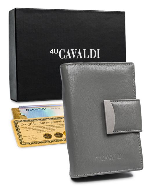 Portfel damski szary Cavaldi RD-04-GCL GRAY