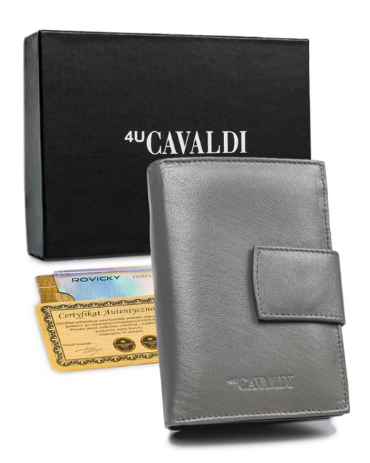 Portfel damski szary Cavaldi RD-05-GCL GRAY