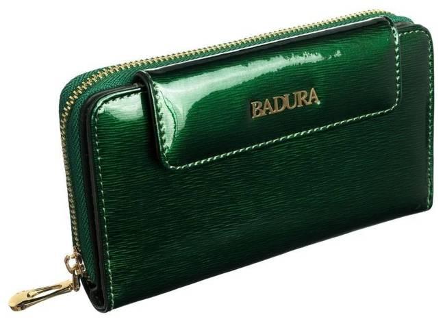Portfel damski zielony Badura B-8808P-SH GREEN