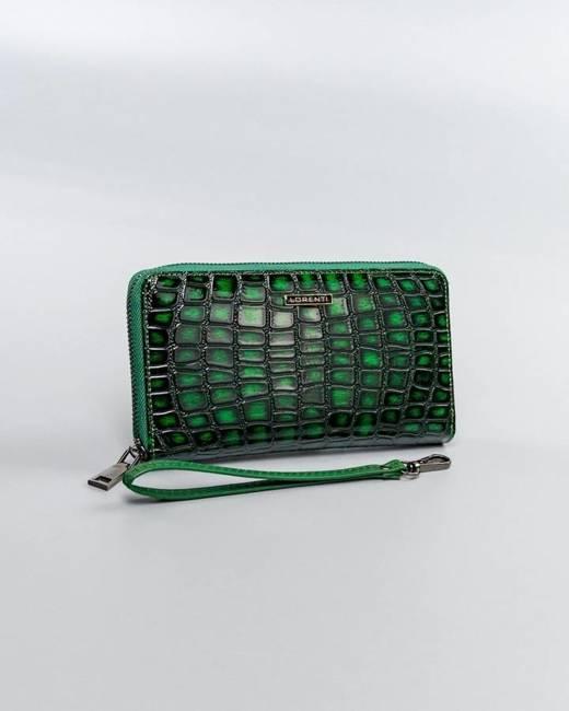 Portfel damski zielony Lorenti  76119-ZS-0260 GREEN