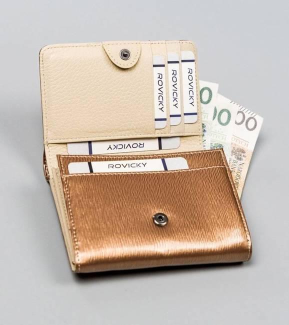 Portfel damski złoty Lorenti 398904-SH-2937 CHAMP
