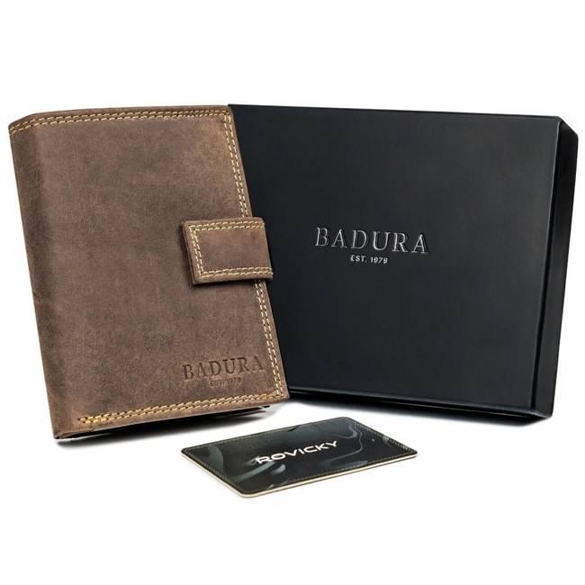 Portfel męski brązowy Badura  N104L-MH-BA BROWN