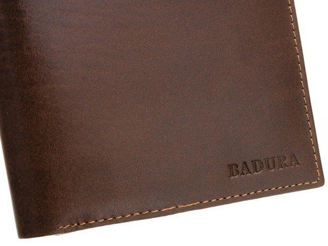 Portfel męski brązowy Badura PO_M027BR_CE